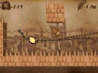 Dit spel heeft een aparte stijl, het lijkt net een sepia foto.