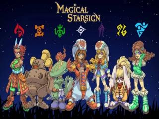 Magical Starsign: Afbeelding met speelbare characters