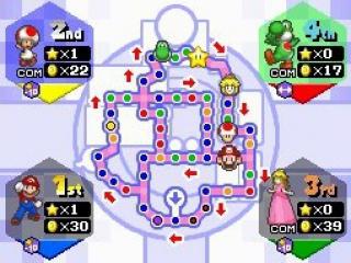 Mario party DS bevat vijf nieuwe speelborden.