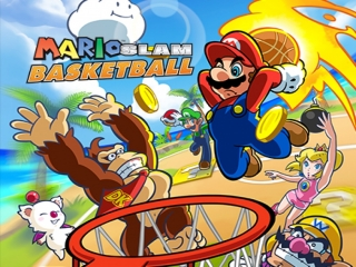 Speel basketbalwedstrijden met Mario, Luigi, Donkey Kong en hun vrienden!