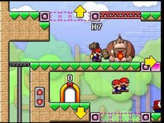 Mario Vs Donkey Kong 2 March of the Minis: Screenshot