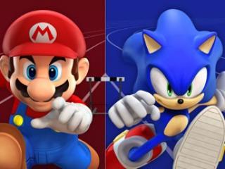 Je kan kiezen uit 20 verschillende personages uit Mario- of Sonicspellen!
