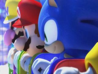 De mascottes van Nintendo en SEGA bundelen de krachten om samen aan sport te doen.