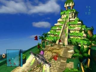 Verken landschappen uit andere games, zoals deze tempel uit <a href = https://www.mariods.nl/nintendo-ds-spel-info.php?Nintendo=MySims_Agents target = _blank>Mysims Agents</a>.