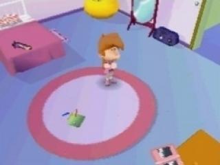 Zo te zien speelt zelfs Nadia op een DS!