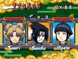 Naruto: Ninja Council 2 European Version: Afbeelding met speelbare characters