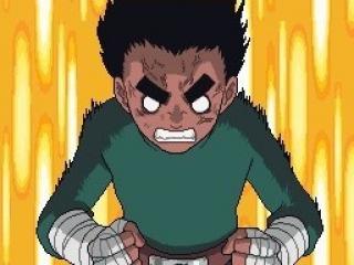 Die denkt ook dat hij uit Dragon Ball Z komt.