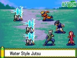 Naruto Path of the Ninja: Screenshot