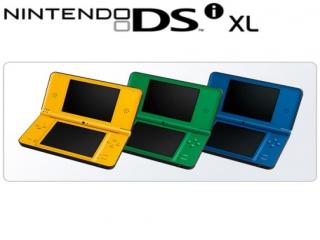 Dit zijn wat verschillende kleuren van de Nintendo DSi XL.