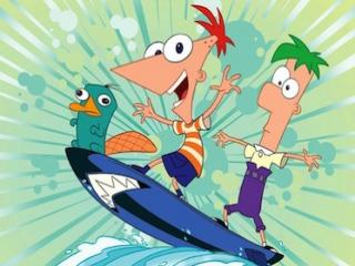 Speel als de uiterst creatieve stiefbroertjes Phineas en Ferb!