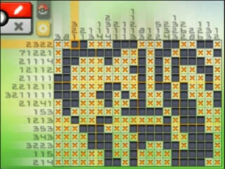 Picross DS: Screenshot