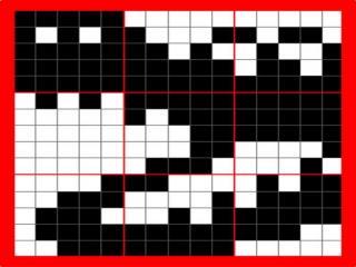 Zodra je de puzzel hebt voltooid zul je een leuk figuurtje zien, die heb je dan mooi bij elkaar gepuzzeld!