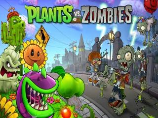 Plant verschillende soorten plantjes om zombie-aanvallen tegen te gaan.