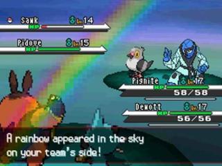 Klassieke gevechten zoals in elk andere pokemon game.