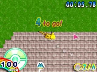Nog maar 4 te gaan! Dash zo snel je kan Pikachu!