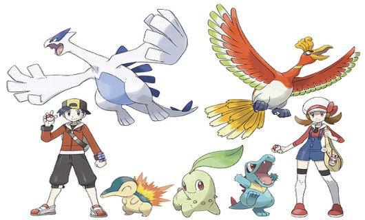 Herbeleef Pokémon Gold met Ethan en Lyra!