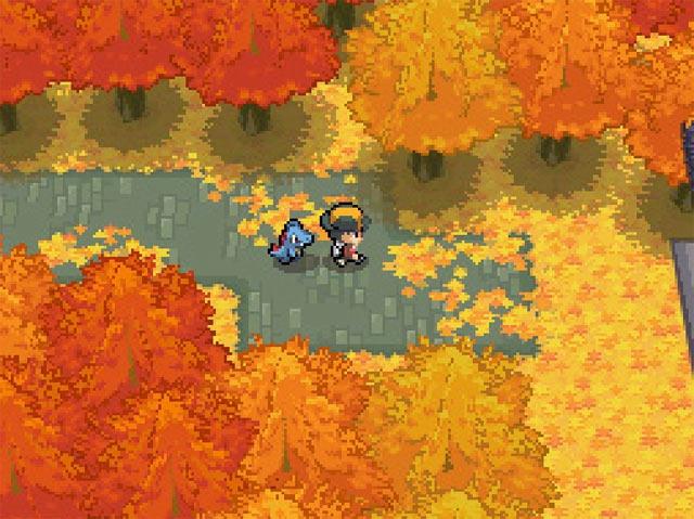 De eerste Pokémon in je party volgt jou overal doorheen Jotho!