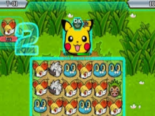 Link de goede Pokémon aan elkaar en pak de winst!