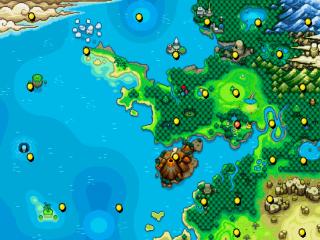 Ook dit pokémon-spel bevat weer een leuke wereld om te ontdekken.