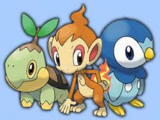 how to get all 3 starters in pokemon platinum