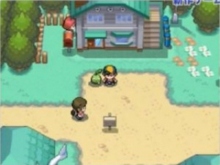 Begin je avontuur hier in New Bark Town met Totodile, Cyndaquil of Chikorita.
