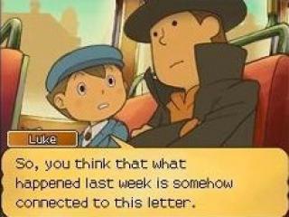 Ook in dit deel in de Professor Layton-serie staan Layton en Luke paraat.