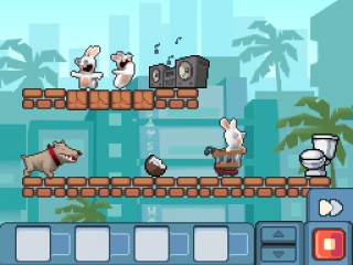 Rabbids Go Home: Screenshot