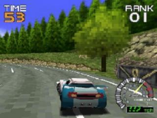 Ridge Racer DS plaatjes