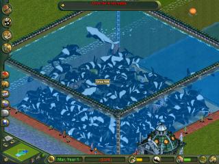 Je speelt als de architect van dit waterdierenpark!