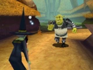 Ga met Sherk ten strijde in deze game.