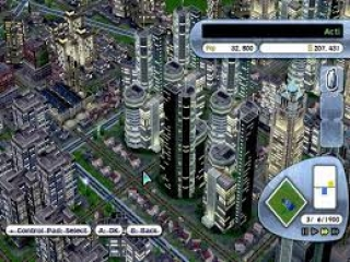 SimCity DS: Screenshot