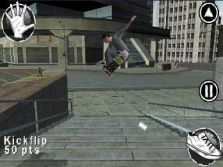 Je kan zelf een skater ontwerpen in Skate It!