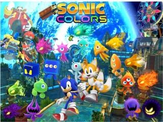 In dit spel krijgt Sonic hulp van de zogenaamde Wisps.