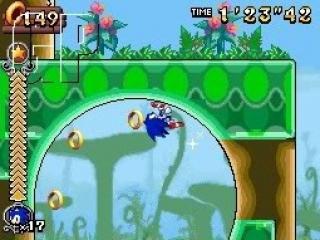 Sonic is net zo snel als altijd en zal nog steeds velen loopings tegen komen.