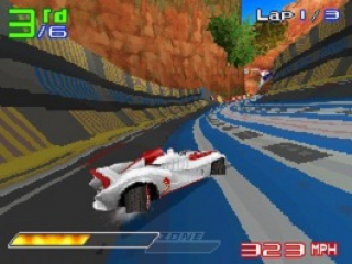 Speed Racer De Game: Screenshot