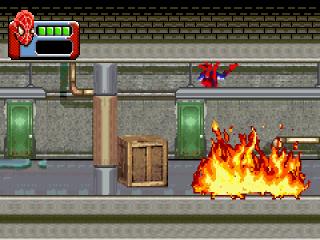 Gebruik je spinnen-krachten om alle levels te verslaan! (En de schurken natuurlijk.)