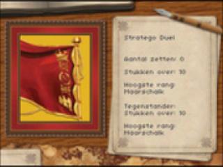 Het doel van Stratego is om de vlag van je vijand te veroveren voordat zij die van jou te pakken krijgen!