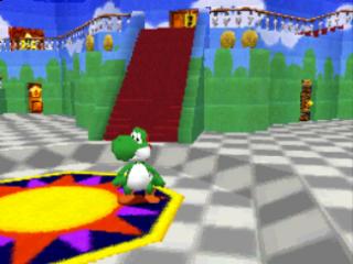 Het kasteel is vrij groot. Probeer niet de weg kwijt te raken!