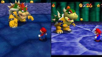 Het is niet zomaar een port, de graphics zien er op de <a href = https://www.mariods.nl/nintendo-ds-spel-info.php?Nintendo=Nintendo_DS target = _blank>DS</a> (links) er veel beter uit!