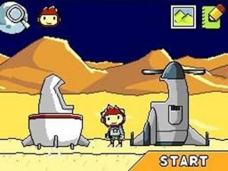 Je kan zelfs raketten en ruimteschepen tekenen in dit spel!