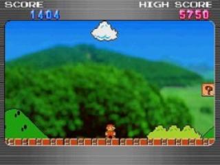 Terwijl je op het ene scherm Tetris speelt, kan je op het andere scherm leuke animaties bekijken.