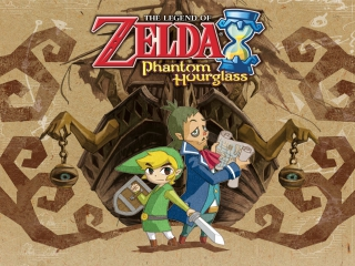 Speel als de held van de wind, Link en kapitein Linebeck.