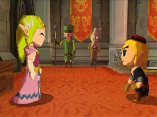 Dit zijn Link en Zelda, de twee characters waar jij de regie over krijgt.