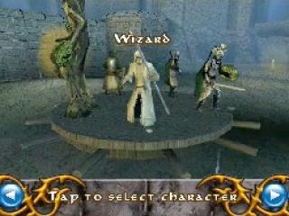 Ga het gevecht aan als strijder, tovenaar of boogschutter.
