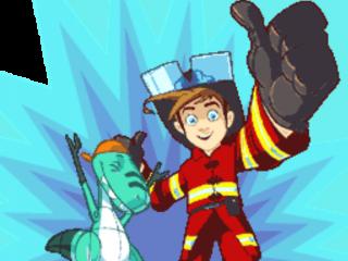 Tim Power is brandweerman en heeft je hulp nodig!