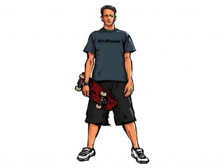 Tony Hawk's Downhill Jam: Afbeelding met speelbare characters