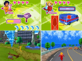 Totally Spies 2 Undercover: Screenshot