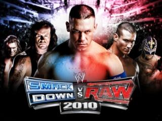 WWE Smackdown Vs. Raw 2010: Afbeelding met speelbare characters