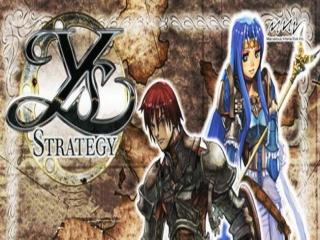 Ys Strategy: Afbeelding met speelbare characters