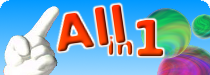 Logo DS-games en accessoires lijsten.